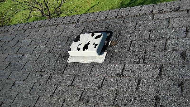 Hail Roof Damage in Crossville Tennessee