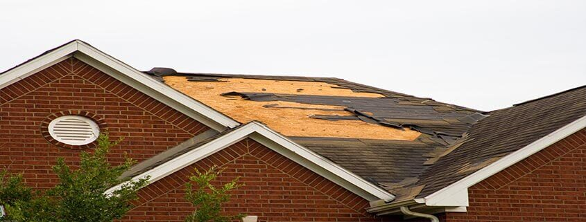 Roof Storm Damage in Charlotte North Carolina