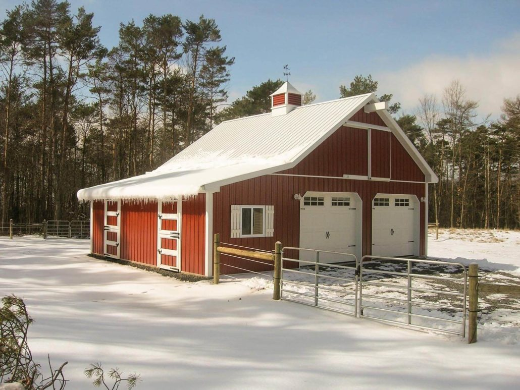 Are Metal Roofs Good In Winter Beneficial Roofing