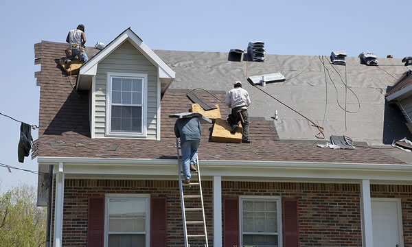 Crossville Roof replacement contract