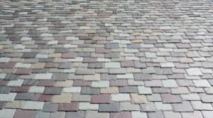 multi colored slate shingles